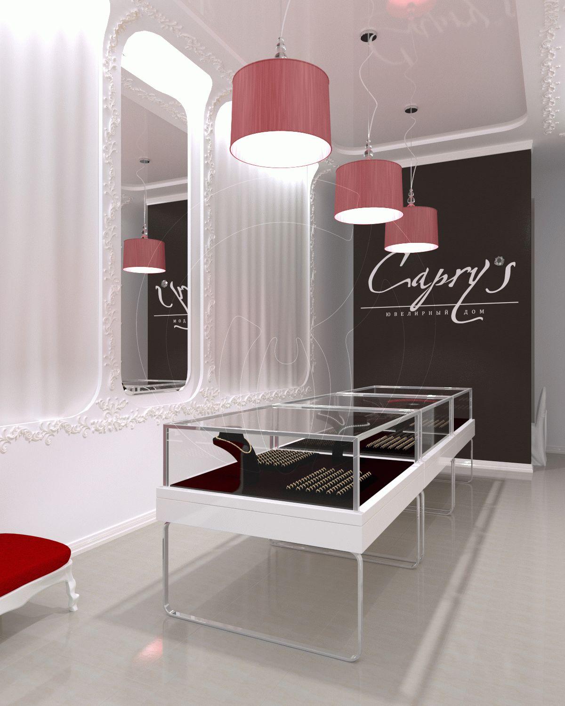 Шоурум showroom ювелирного магазина Caprys 2