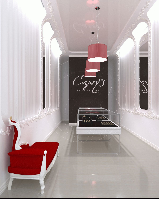 Шоурум showroom ювелирного магазина Caprys 3