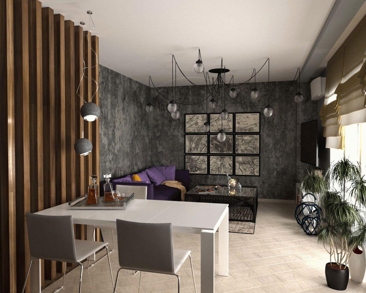 Квартира в стиле минимализм на Героев Сталинграда1
