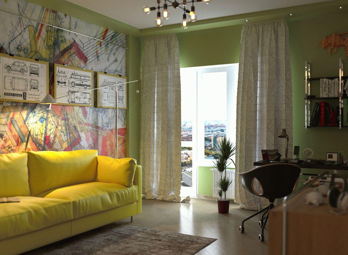 Квартира в стиле минимализм на Героев Сталинграда 6