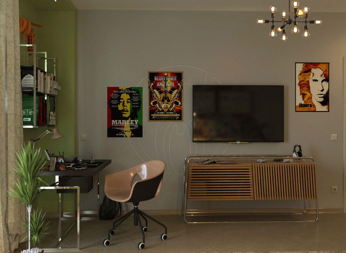 Квартира в стиле минимализм на Героев Сталинграда 7