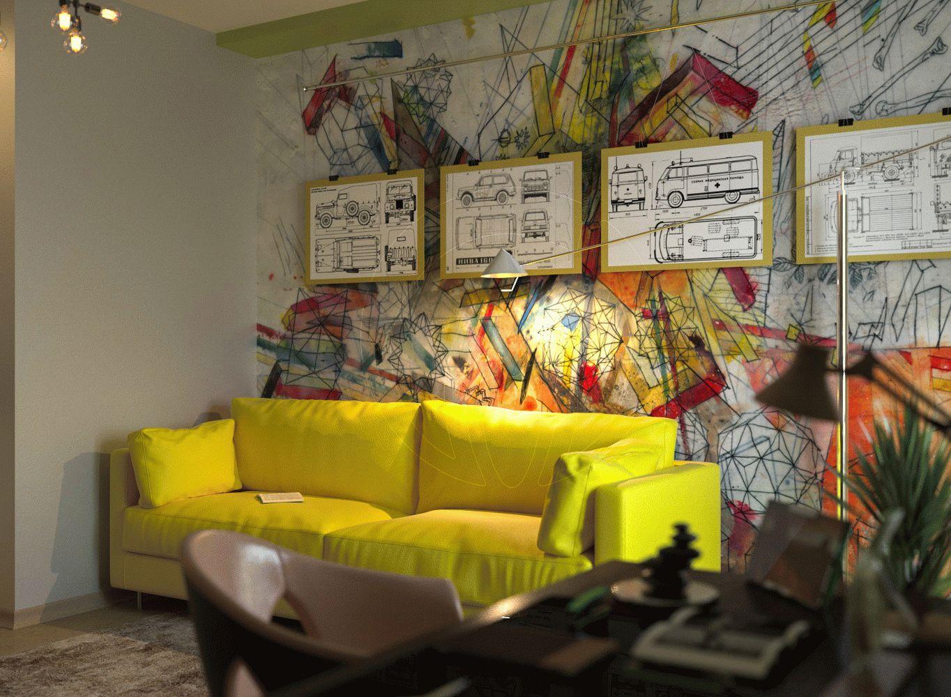Квартира в стиле минимализм на Героев Сталинграда 8