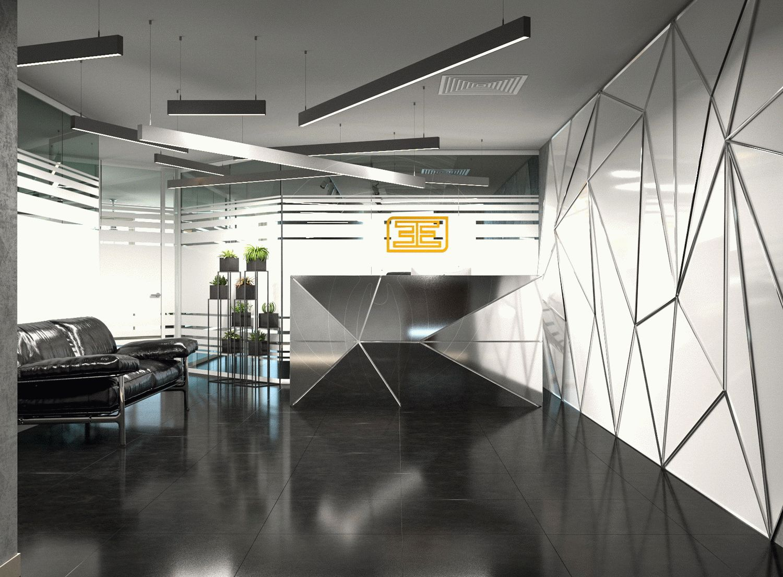 Офис в современном стиле leemas в Дубай_1
