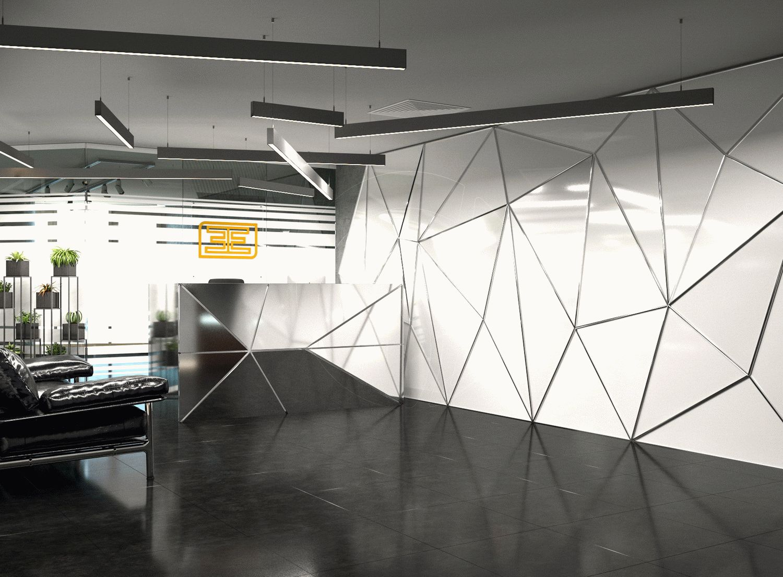 Офис в современном стиле leemas в Дубай_2