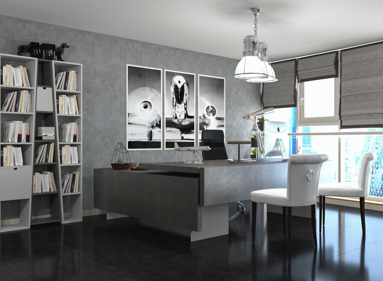 Офис в современном стиле leemas в Дубай_4