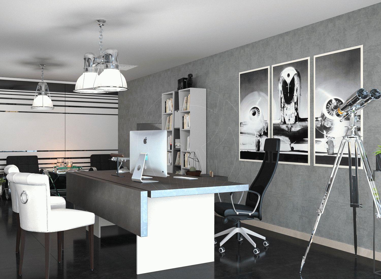 Офис в современном стиле leemas в Дубай_5