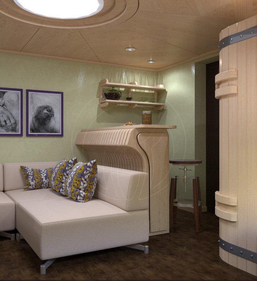Баня и сауна в частном доме в г. Лубны-4