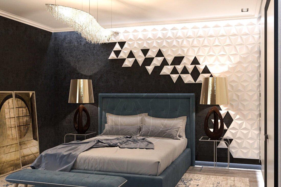 Квартира в современном стиле минимализм. Двухкомнатная квартира в Одессе. 6