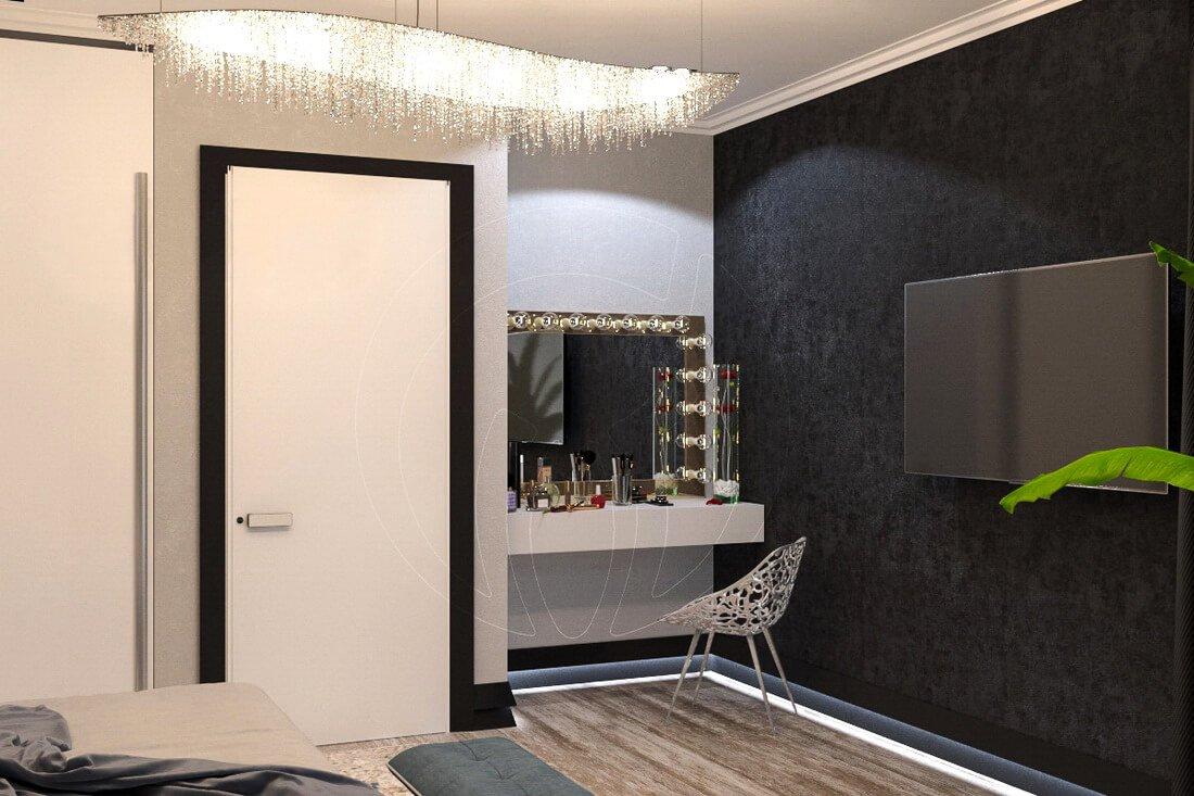 Квартира в современном стиле минимализм. Двухкомнатная квартира в Одессе. 7