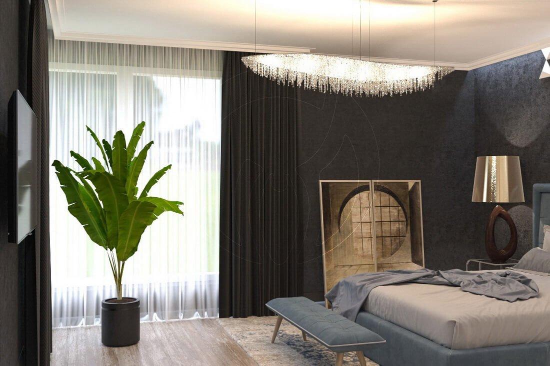 Квартира в современном стиле минимализм. Двухкомнатная квартира в Одессе. 8