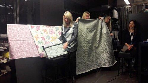 Презентация Prestigious Textiles в Daylight