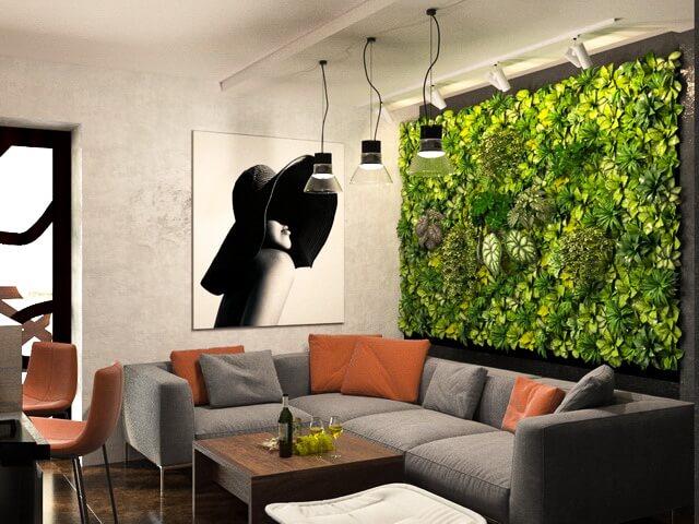 Фитостена, вертикальный сад, вертикльное озеленение.