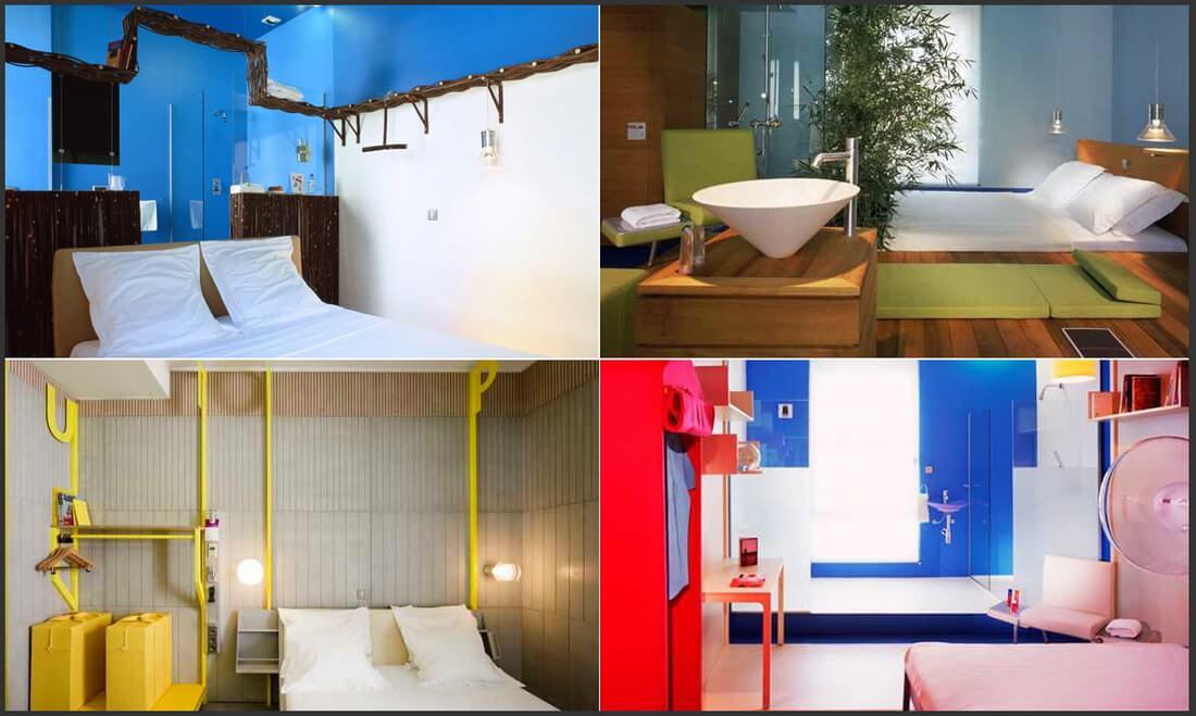 Дизайн Matali Crasset, «Hi hotel». Фотография отеля «Hi hotel»