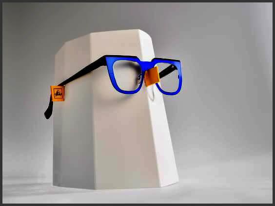 Дизайн Matali Crasset очки «Wide Open»