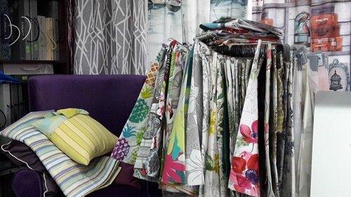 Презентация текстиля STOF France в салоне ABC_3