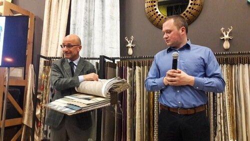 Презентация текстильного бренда Decobel в салоне Boucle