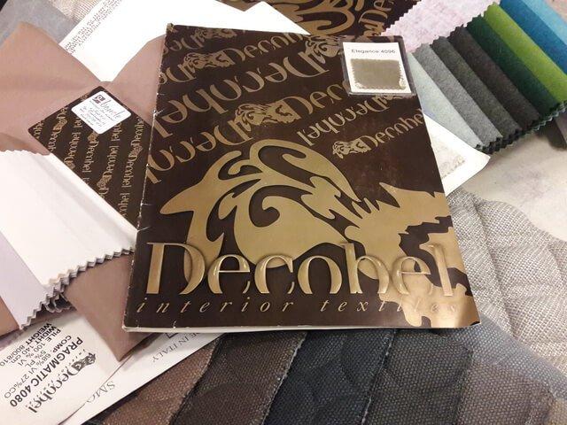 Презентация текстильного бренда Decobel