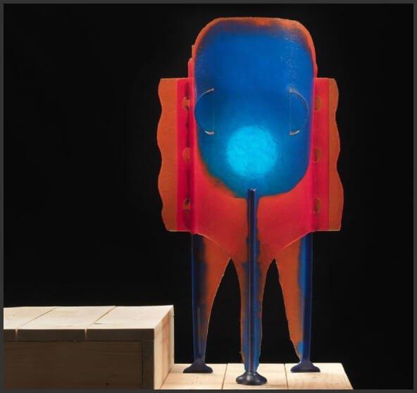 Гаэтано Пеше (Gaetano Pesce). Ваза Elephant Lamp - Edizioni del Pesce