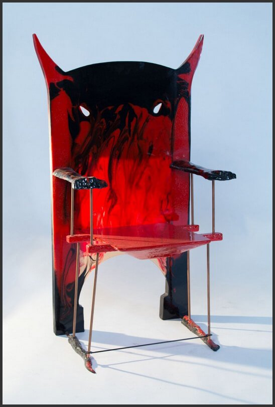 Гаэтано Пеше (Gaetano Pesce). Кресло Devil Chair