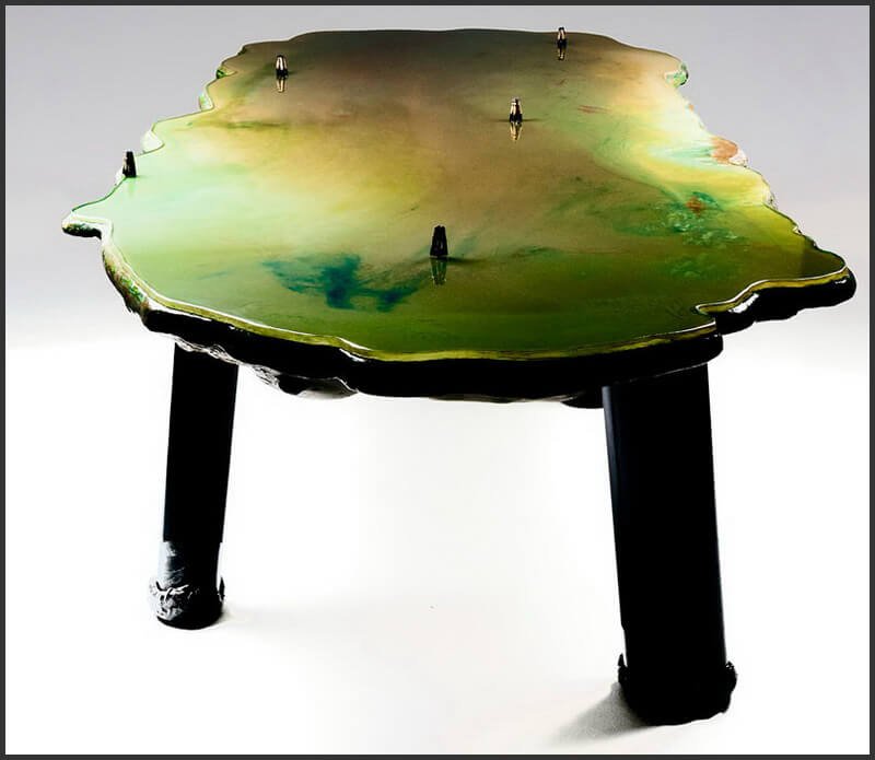 Гаэтано Пеше (Gaetano Pesce). Стол Lagoon Table