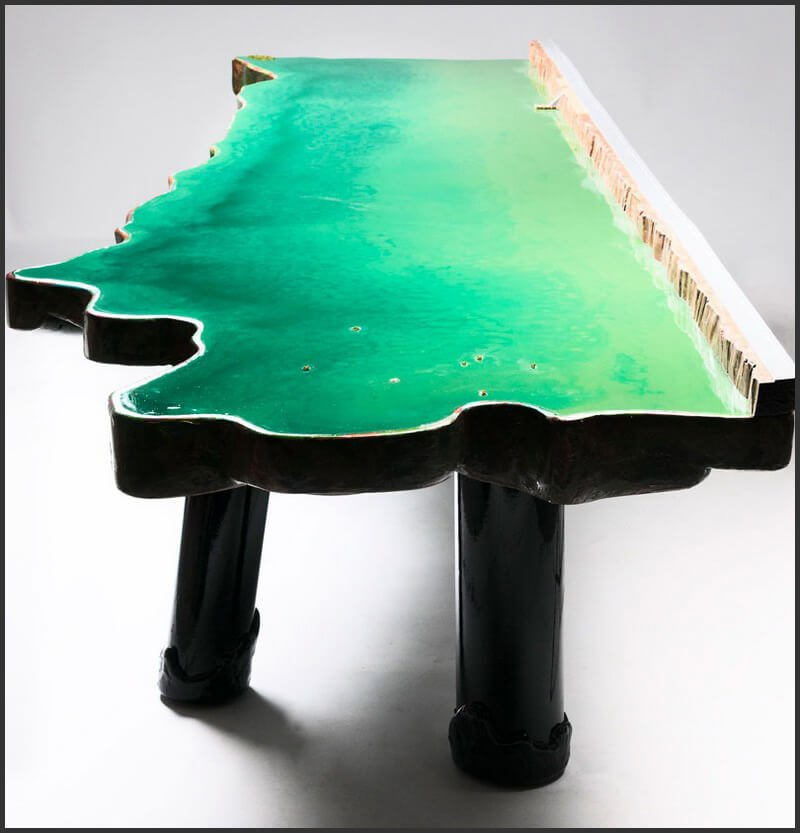 Гаэтано Пеше (Gaetano Pesce). Стол Lake Table
