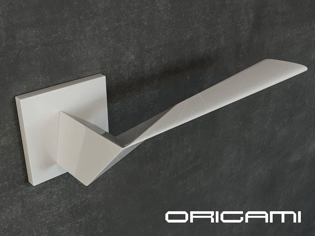 Предметный дизайн. Дверная ручка Origami. Дизайнеры Цвиль Виктор и Ольга