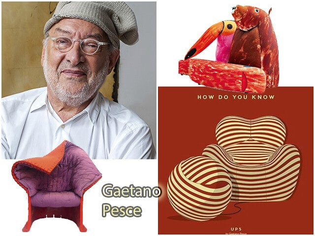 Гаэтано Пеше (Gaetano Pesce) дизайнер, архитектор