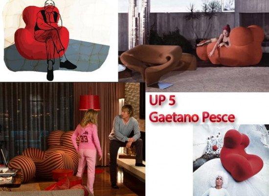 Кресло Up 5 Гаетано Пеше (Gaetano Pesce) в кино
