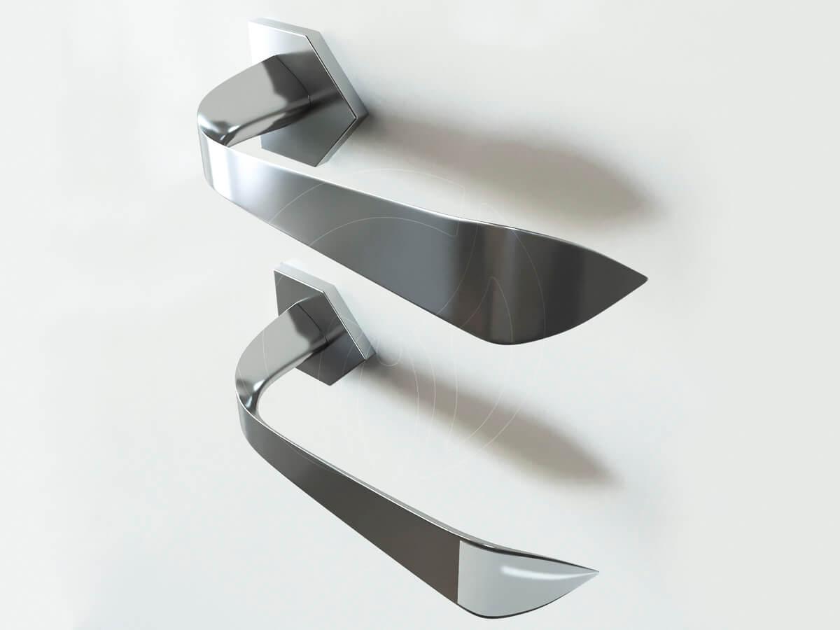 Дверная ручка doorhandle Bionica. Авторы- дизайнеры интерьера Виктора и Ольги Цвиль