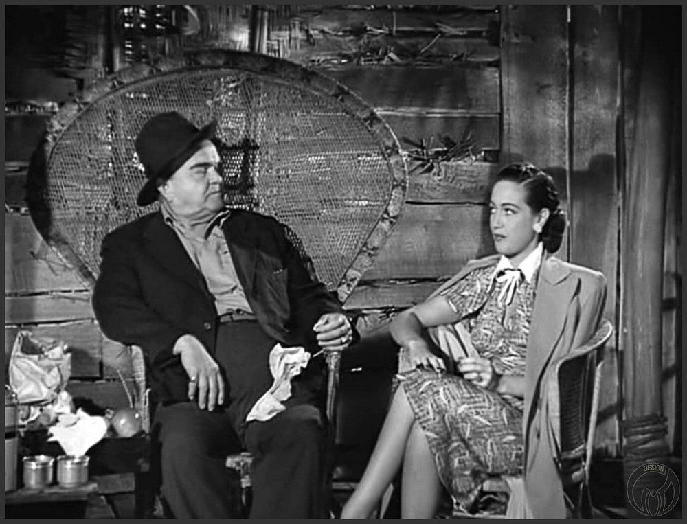 """Кресло Павлин (Peacock chair) в кино """"Наш свадебный путь / On Our Marry way"""" (1948)"""