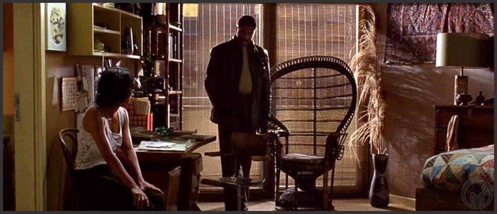 """Кресло Павлин (Peacock chair) в фильме """"Облачный атлас / Cloud Atlas"""" (2004)"""