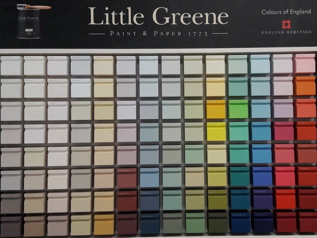 "Практикум ""Little Greene big color day"" в Мандерс. Палитра Little Greene"