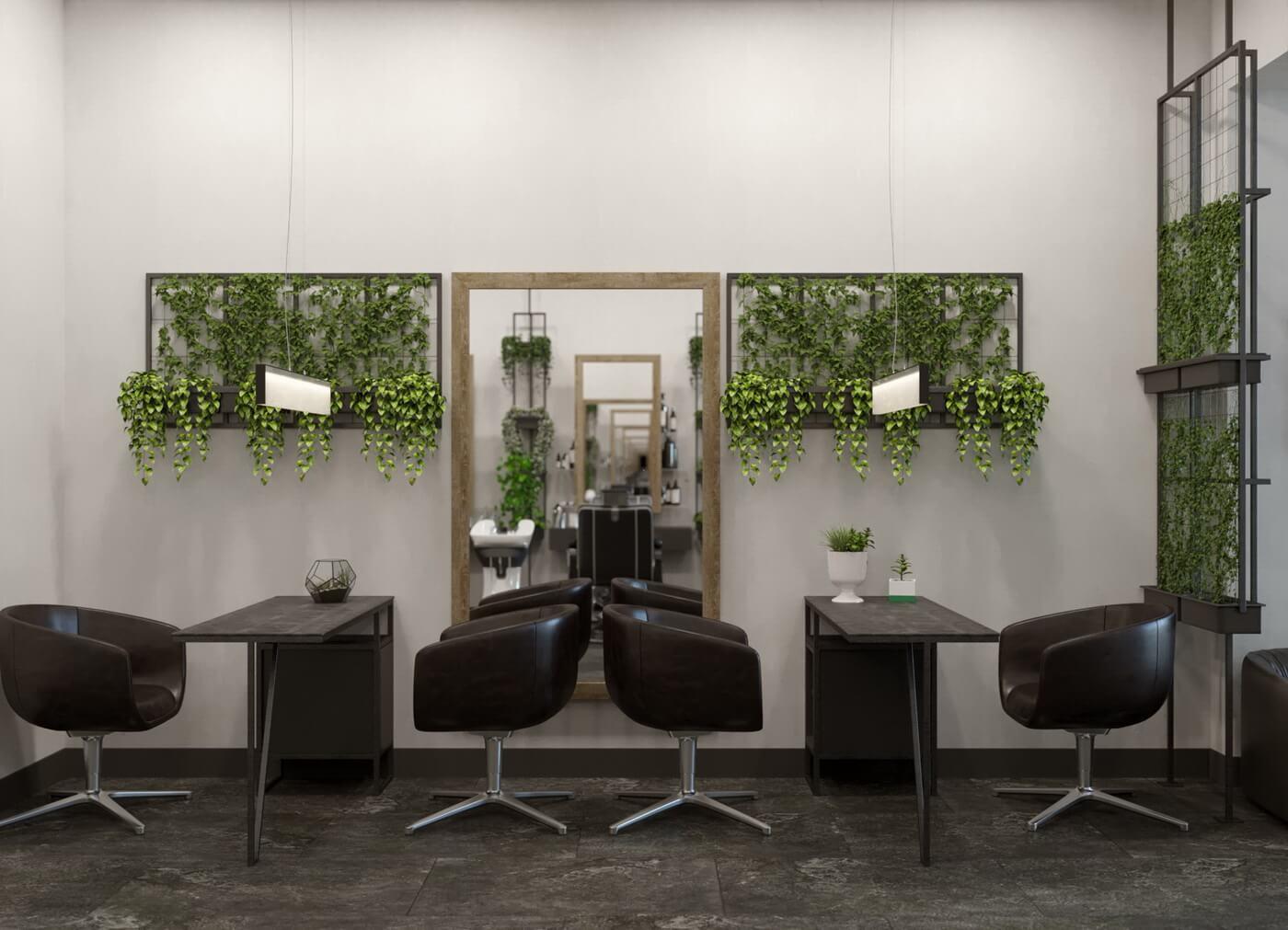 """Салон красоты """"Ninel"""". Маникюрные столы в стиле LOFT"""