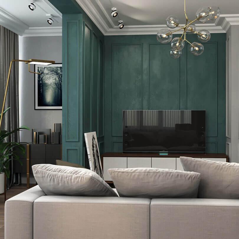 Квартира в стиле