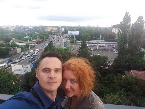 Дизайнеры интерьера Виктор и Ольга Цвиль на открытии нового салона Kerama Marazzi в г. Киев