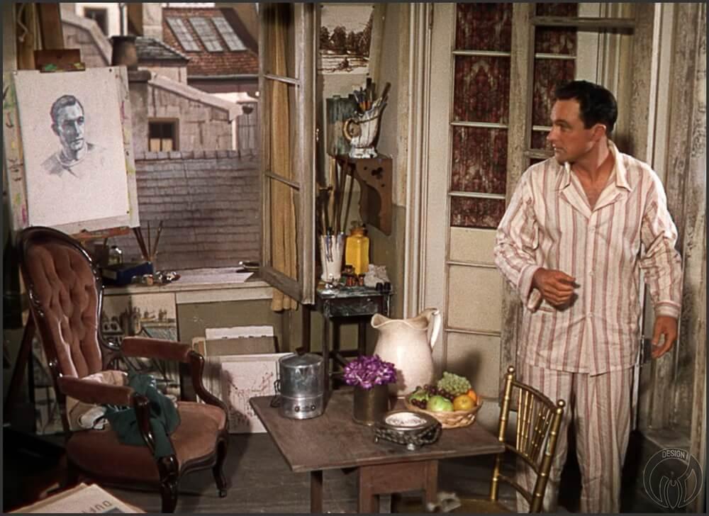 Кадр из фильма «Американец в Париже / An American in Paris» (1951)