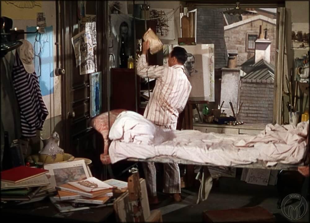Кадр из фильма «Американец в Париже / An American in Paris» (1951)_1
