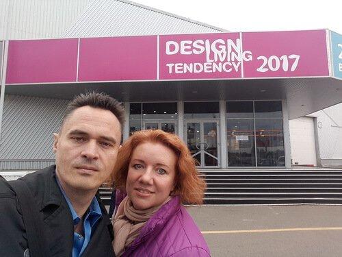 Выставка Design. Living Tendency 2017. Виктор и Ольга Цвиль