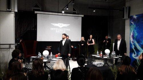Вторая полуфинальная игра Intellectual Battle 2017. Капитаны команд