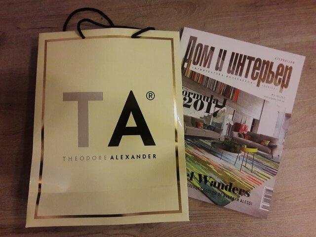 Презентация новой коллекции Theodore Alexander