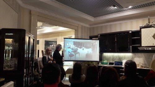 Презентация новинок итальянских фабрик в FREEDOM. Мебель