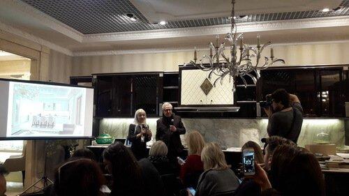 Презентация новинок итальянских фабрик в FREEDOM. Презентация кухни