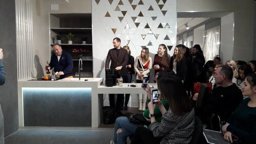 Презентация нового шоу-рума PROSTIR 20. Кофе по- испански