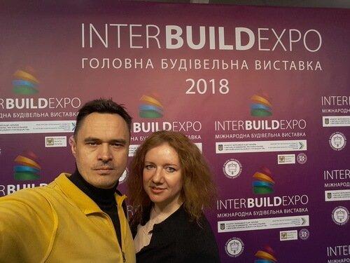 inter build expo 2018. Дизайнеры Виктор и Ольга Цвиль