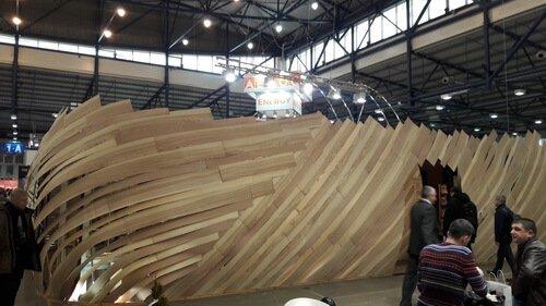 inter build expo 2018. Павильон выставки