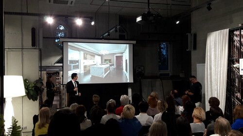 Презентация новой коллекции MORE от бренда Provasi. Представитель фабрики