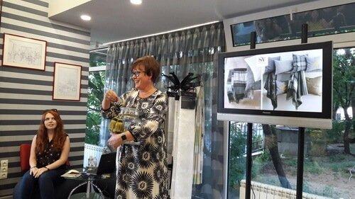 Презентация новой коллекции тканей Saum&Viebahn. Розыгрыш призов