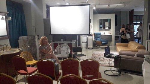 Презентация MIDJ в салоне Prospero. Начало презентации