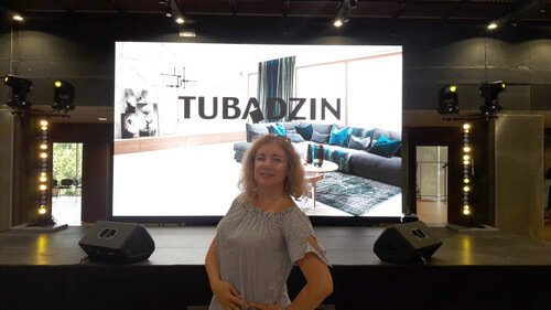 Tubadzin Design Days in Kyiv. Ольга Цвиль