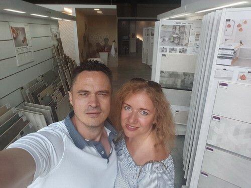 Tubadzin Design Days in Kyiv. Дизайнеры Виктор и Ольга Цвиль
